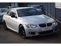 2011 BMW 3 Series 330 Convertible 3.0d 245 Sport Plus Edition St6 Diesel silver