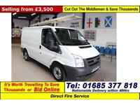 2009 - 59 - FORD TRANSIT T300 2.2TDCI 85PS FWD SWB VAN (GUIDE PRICE)