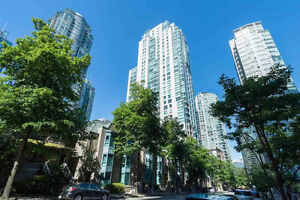 Fully furnished 1 bedroom apartment Coal Harbour
