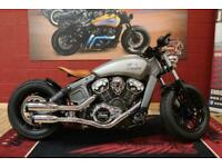 INDIAN SCOUT 1200 MSR BOBBER, CUSTOM BUILD, MADE TO ORDER FROM £12,500