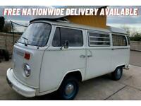 1972 Volkswagen MOTOR CARAVAN Transporter T2 Westfalia Bay Window - Genuine UK