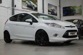 Ford Fiesta 1.6 Metal, 61 Reg, Only 32k, Frozen White, Black Leather, FSH.