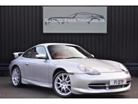 Porsche 911 ( 996 ) 3.4 Carrera 2 Manual Coupe GT3 Aero Kit + Boxster Red Leater