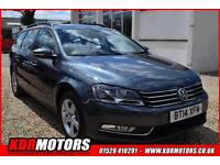 2014 Volkswagen Passat S 2.0 TDI BLUEMOTION 6 SPEED MANUAL 104K F/S/H