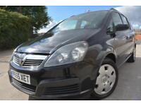 VAUXHALL ZAFIRA LIFE 1.6 7 SEATER MPV*LOW MILEAGE*FULL 12 MONTHS MOT*AIR CON*