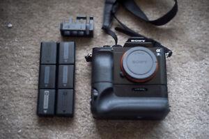 Sony Alpha A7S Camera extra batteries