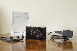 Sony RX100 Mint Like-New Condition