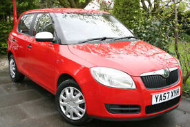 Skoda **FABIA** 1.2 HTP 1 *RED* 2008/57 **Only 40k miles**