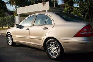 2001 Mercedes-Benz C180 Sedan - RWC and Rego Brisbane City Brisbane North West Preview