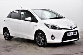 2014 Toyota Yaris HYBRID TREND PETROL/ELECTRIC white CVT