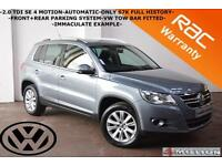 2009 Volkswagen Tiguan 2.0TDI 4Motion SE AUOTMATIC-F+R PARKING SYSTEM-IMMACULATE
