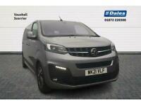2021 Vauxhall VIVARO LIFE 2.0 Turbo D 180PS Elite M 5dr Auto MPV Diesel Automati