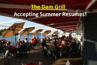 The Dam Grill is Hiring Serving and Kitchen Staff!