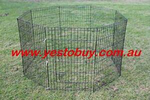 24' 8 Panel Pet Dog Playpen rabbit Cage Puppy Crate Enclosure Oakleigh Monash Area Preview