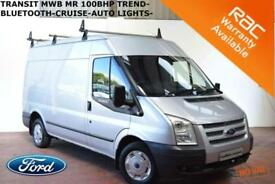 2012 Ford Transit 2.2TDCi (100PS) (EU5) 280M Med Roof Van 280 MWB Trend-AIR CON-