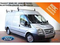 2012 Ford Transit 2.2TDCi (100PS) (EU5) 280M Med Roof Van 280 MWB Trend-AIR CON-