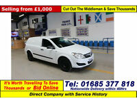 2008 - 58 - VAUXHALL ASTRA CLUB 1.3 CDTI VAN (GUIDE PRICE)