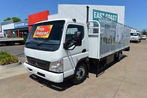 MITSUBISHI FUSO CANTER FE85 ** TRAYTOP WITH GATES ** #4966 Archerfield Brisbane South West Preview