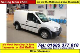 2004 - 54 - FORD TRANSIT CONNECT L220 1.8TDCI VAN (GUIDE PRICE)