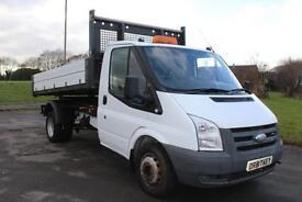 Ford Transit 2.4TDCi ( 100PS )( DRW )350 MWB TIPPER 57 REG £5895 NO VAT !!!