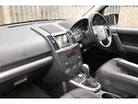 2010 Land Rover Freelander 2.2 TD4 HSE 4x4 5dr Diesel black Automatic