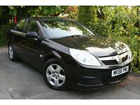 Vauxhall **VECTRA** 1.8i VVT 140ps Exclusive 2006 Black 5 Door