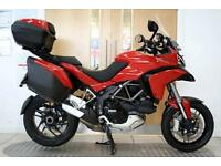 2014 Ducati Multistrada 1200 S Touring D-Air Red 8,525 Miles 1 Owner
