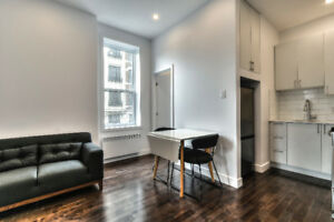 McGill Ghetto Montreal Studios and 1 Bedrooms Furnished/Included