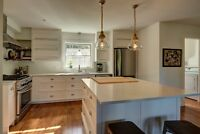 Renovated Cape Cod –situated on lovely lot- close to Fredericton