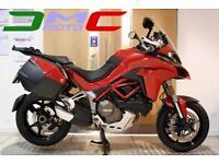 2015 Ducati Multistrada 1200 S Touring DVT Red 5,806 Miles 1 Owner | £186.93 pcm