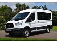 Ford Transit 12 seat mini bus 2.2 tdci 350 L2H2