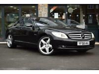 2008 MERCEDES CL500 2008 5.5 CL500 2DR 58REG PETROL AUTO BLACK Coupe Petrol Auto