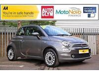 2015 Fiat 500 1.2 Lounge 3dr (start/stop) Petrol grey Manual