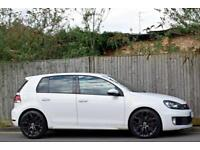 VW VOLKSWAGEN GOLF GTD 2.0 TDI DIESEL MANUAL 5DR HATCHBACK 2009 [59] WHITE