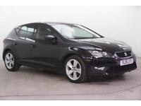 2015 SEAT Leon TDI FR Diesel black Manual
