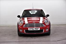 2012 MINI Hatch ONE Petrol red Manual
