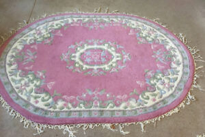 Persian Style Area Rugs, Coffee Table & Ironing Board