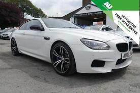 2013 63 BMW M6 4.4 ( 560bhp ) M DCT FULL BMW SERVICE HISTORY in WHITE