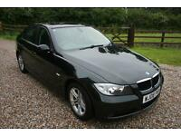 2008 BMW 320D SE 4 DOOR 2.0L MANUAL SALOON WARRANTIED LOW MILEAGE FSH