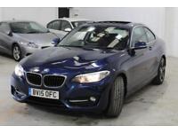2015 BMW 2 Series 2.0 220d Sport (s/s) 2dr