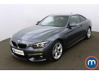 2018 BMW 4 Series 430d M Sport 2dr Auto [Professional Media] Coupe Diesel Automa