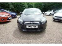 2013 Ford Focus 1.6 TDCi 115 Zetec 5dr - CAR IS £7399 - £55 PER WEEK HATCHBACK D