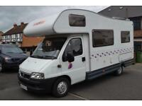 CI Carioca 10 Coachbuilt Motorhome for Sale 5 Berth 5 Seatbeltd 3400kg Towbar