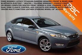2010 Ford Mondeo 2.0TDCi 140Titanium-B.TOOTH-PARK SENSORS-DAB-CRUISE-AUTO LIGHTS