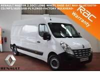 2013 Renault Master 2.3TD 125 (Euro V) LM35dCi (LWB)-SAT NAV-BLUETOOTH-PLYLINED-