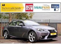 2014 Lexus IS 2.5 Premier E-CVT 4dr PETROL/ELECTRIC grey CVT