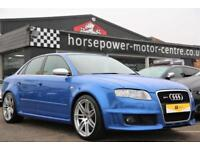 2007 Audi A4 4.2 Quattro 4dr Petrol blue Manual