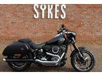 NEW 2021 Harley-Davidson FLSB Softail Sport Glide in Vivid Black