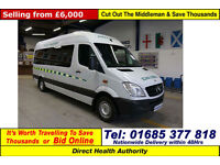 2009 - 59 - MERCEDES SPRINTER 315 2.2CDI AUTO 7 SEAT DISABLED ACCESS PTS MINIBUS