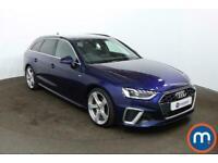 2020 Audi A4 35 TFSI S Line 5dr S Tronic [Comfort-PlusSound] Auto Estate Petrol